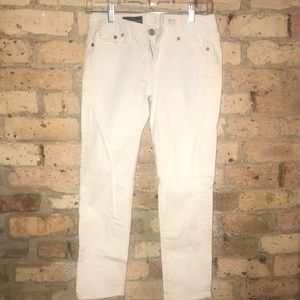 Cropped matchstick jeans
